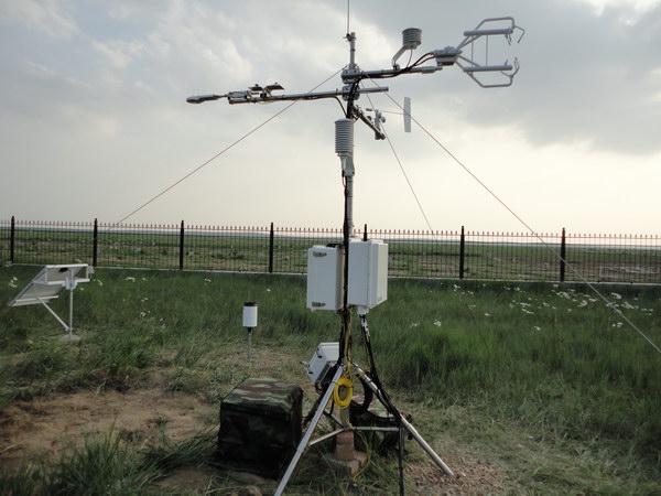 位于内蒙古锡林浩特的通量观测站